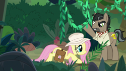 Size: 1920x1080 | Tagged: safe, screencap, doctor caballeron, fluttershy, daring doubt