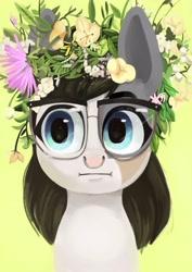 Size: 2897x4096   Tagged: safe, artist:toisanemoif, oc, oc only, pony, bust, female, portrait, solo