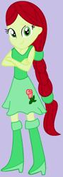 Size: 464x1304 | Tagged: safe, artist:appimena, oc, oc:roseheart, equestria girls, solo