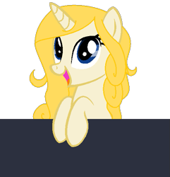 Size: 523x543 | Tagged: safe, artist:blackholeii, oc, oc only, oc:fine print, unicorn, horn, pocket, simple background, solo, transparent background, unicorn oc