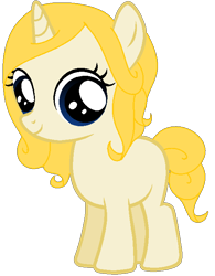 Size: 532x683 | Tagged: safe, artist:blackholeii, oc, oc only, oc:fine print, unicorn, female, filly, horn, simple background, solo, transparent background, unicorn oc