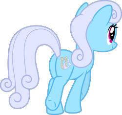 Size: 4251x4000 | Tagged: safe, artist:melisareb, linky, shoeshine, earth pony, pony, honest apple, .svg available, absurd resolution, butt, cute, female, inkscape, linkybetes, mare, plot, simple background, solo, transparent background, vector