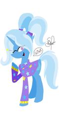 Size: 1553x3250 | Tagged: safe, artist:richartspark, trixie, pony, unicorn