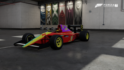Size: 1920x1080 | Tagged: safe, sunset shimmer, equestria girls, formula 1, forza motorsport, forza motorsport 7, photo
