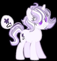 Size: 400x429 | Tagged: safe, artist:rose-moonlightowo, oc, pony, unicorn, female, magical lesbian spawn, mare, offspring, parent:pinkie pie, parent:twilight sparkle, parents:twinkie, simple background, solo, transparent background