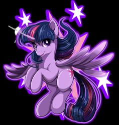 Size: 1024x1080 | Tagged: safe, artist:jenndylyon, twilight sparkle, alicorn, cute, simple background, transparent background, twiabetes, twilight sparkle (alicorn)