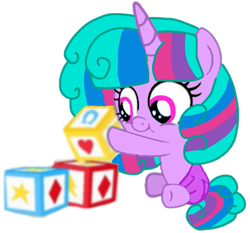 Size: 1003x936 | Tagged: safe, artist:徐詩珮, oc, oc:velvet berrytwist, pony, bubbleverse, series:sprglitemplight diary, series:sprglitemplight life jacket days, series:springshadowdrops diary, series:springshadowdrops life jacket days, alternate universe, baby, baby pony, base used, clothes, female, magical lesbian spawn, magical threesome spawn, multiple parents, next generation, offspring, parent:glitter drops, parent:spring rain, parent:tempest shadow, parent:twilight sparkle, parents:glittershadow, parents:sprglitemplight, parents:springdrops, parents:springshadow, parents:springshadowdrops, simple background, transparent background