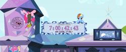 Size: 1126x467   Tagged: safe, pinkie pie, rainbow dash, earth pony, pegasus, my little pony: pony life, countdown, pinkie spy, princess probz, spy, the best of the worst