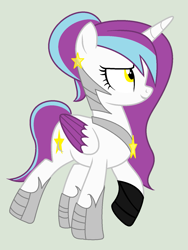 Size: 1117x1485   Tagged: safe, artist:lominicinfinity, oc, oc:moonlight dust, alicorn, pony, base used, female, mare, simple background, solo