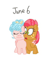 Size: 1280x1675 | Tagged: safe, artist:horroraceman93, babs seed, cozy glow, pony, adorababs, babsglow, cozybetes, cute, female, hug, lesbian, pride month, shipping, simple background, transparent background, winghug