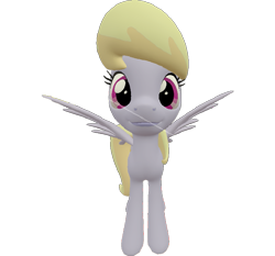 Size: 773x720 | Tagged: safe, artist:topsangtheman, cloud kicker, pegasus, pony, 3d, looking at you, simple background, solo, source filmmaker, transparent background