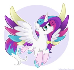 Size: 1280x1220 | Tagged: safe, artist:redpalette, oc, alicorn, alicorn oc, cute, female, flying, horn, mare, wings