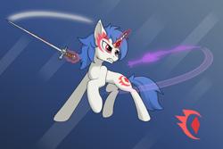 Size: 3000x2000 | Tagged: safe, artist:kargle, oc, oc only, oc:glitter anchor, pony, unicorn, male