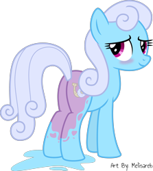 Size: 4000x4476 | Tagged: safe, artist:melisareb, lilac links, linky, shoeshine, earth pony, pony, .svg available, absurd resolution, blushing, bodypaint, butt, female, headcanon, mare, plot, simple background, solo, transparent background, vector