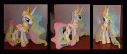 Size: 5176x2224 | Tagged: safe, artist:calusariac, princess celestia, pony, irl, photo, plushie, solo