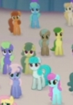 Size: 105x152 | Tagged: safe, screencap, earth pony, pony, my little pony: the movie, background pony, canterlot, cropped, female, male, mare, picture for breezies, small group, stallion, unnamed character, unnamed pony