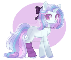 Size: 1280x1087 | Tagged: safe, artist:moon-rose-rosie, oc, earth pony, pony, unicorn, clothes, female, mare, socks, solo, striped socks