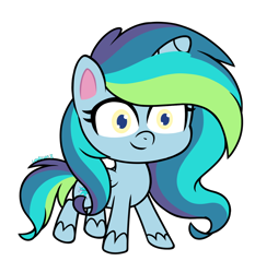 Size: 1262x1353 | Tagged: safe, artist:leaficun3, oc, oc:everfree, pony, my little pony: pony life, simple background, solo, transparent background