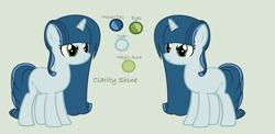 Size: 3504x1712 | Tagged: safe, artist:lominicinfinity, oc, oc:clarity shine, pony, unicorn, female, mare, solo