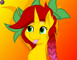 Size: 5499x4320 | Tagged: safe, artist:terminalhash, oc, pony, unicorn, :p, cutiemark on background, solo, tongue out