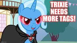 Size: 739x415 | Tagged: safe, edit, edited screencap, screencap, trixie, magic duel, alicorn amulet