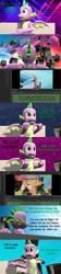 Size: 1920x8640 | Tagged: safe, artist:papadragon69, spike, dragon, comic:spike's cyosa, 3d, breaking the fourth wall, choose your own adventure, comic, cyoa, dialogue, fourth wall, male, meta, older, older spike, source filmmaker, talking to the artist, talking to viewer, teenage spike, teenager, winged spike