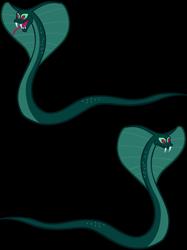 Size: 1280x1707 | Tagged: safe, artist:andoanimalia, cobra, snake, school raze, stranger than fan fiction, simple background, transparent background, vector