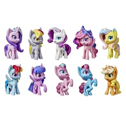 Size: 1500x1500 | Tagged: safe, applejack, cup cake, derpy hooves, fluttershy, pinkie pie, princess cadance, rainbow dash, rarity, starlight glimmer, twilight sparkle, my little pony: pony life, blind bag, toy
