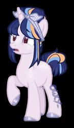 Size: 600x1032   Tagged: safe, artist:owl-clockwork, oc, pony, unicorn, female, mare, offspring, parent:flash sentry, parent:twilight sparkle, parents:flashlight, simple background, solo, transparent background