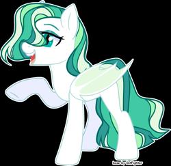 Size: 3859x3745   Tagged: safe, artist:rerorir, oc, bat pony, pony, simple background, solo, transparent background