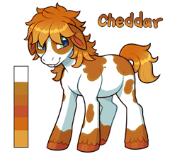 Size: 675x585   Tagged: safe, artist:lastnight-light, oc, oc:cheddar cheese, earth pony, pony, male, simple background, solo, stallion, transparent background