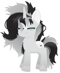 Size: 6272x7615 | Tagged: safe, artist:silver star, oc, oc only, oc:silver star, bags under eyes, blaze (coat marking), coat markings, cute, lineless, lineless art, messy mane, messy tail, simple background, sleepy, socks (coat marking), solo, tired, transparent background