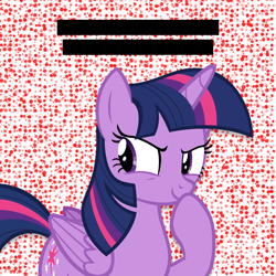 Size: 3500x3500 | Tagged: safe, derpibooru exclusive, twilight sparkle, alicorn, pony, op is a duck, op is trying to start shit, solo, text, twilight sparkle (alicorn)