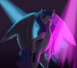 Size: 3000x2657 | Tagged: safe, artist:moonwolf96, oc, pegasus, pony, bipedal, female, mare, solo