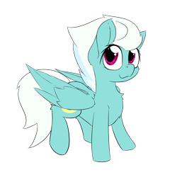 Size: 2000x2000 | Tagged: safe, artist:jubyskylines, part of a set, fleetfoot, pegasus, pony, chest fluff, cute, diafleetes, high res, looking at you, simple background, smiling, solo, transparent background