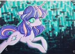 Size: 720x519 | Tagged: safe, artist:dollbunnie, twilight sparkle, marker drawing, solo, traditional art, vent art