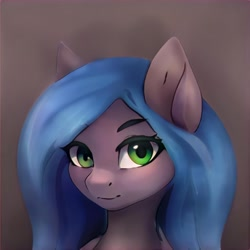Size: 1024x1024 | Tagged: safe, artist:thisponydoesnotexist, pony, artificial intelligence, bust, looking at you, neural network, portrait, solo
