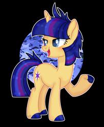 Size: 1704x2088 | Tagged: safe, artist:pancakeartyt, oc, oc:skylight sentry, pony, unicorn, female, mare, offspring, parent:flash sentry, parent:twilight sparkle, parents:flashlight, solo