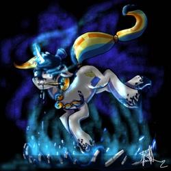 Size: 1024x1024   Tagged: safe, artist:kiwwsplash, oc, oc only, pony, unicorn, glowing horn, horn, levitation, magic, mouth hold, paint, paintbrush, self-levitation, signature, solo, telekinesis, unicorn oc