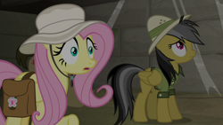 Size: 1920x1080 | Tagged: safe, screencap, biff, daring do, fluttershy, daring doubt, henchmen