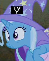 Size: 414x515 | Tagged: safe, edit, edited screencap, screencap, trixie, to where and back again, cropped