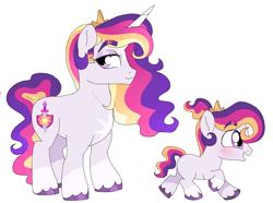 Size: 918x682 | Tagged: safe, artist:unoriginai, oc, oc:prince dawn, unicorn, age progression, clothes, colt, cute, magical lesbian spawn, male, markings, offspring, parent:princess celestia, parent:twilight sparkle, parents:twilestia, socks (coat marking), stallion