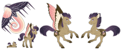 Size: 6000x2500 | Tagged: safe, artist:jackiebloom, oc, pegasus, pony, baby, baby pony, colt, magical lesbian spawn, male, offspring, parent:fluttershy, parent:princess luna, parents:lunashy, simple background, solo, stallion, transparent background, two toned wings, wings