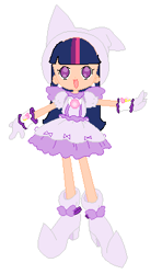 Size: 240x406 | Tagged: safe, artist:royaleanimequeen, twilight sparkle, alicorn, human, equestria girls, base used, boots, clothes, crossover, doremi, ear piercing, earring, gloves, hat, jewelry, magical doremi, ojamajo doremi, open mouth, piercing, shoes, twilight sparkle (alicorn), witch, witch apprentice, witch costume, witch hat, witchling