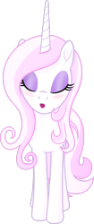 Size: 1280x3034 | Tagged: safe, artist:negatif22, fleur-de-lis, pony, unicorn, blushing, eyes closed, female, kissing, kissy face, mare, open mouth, simple background, solo, transparent background, vector