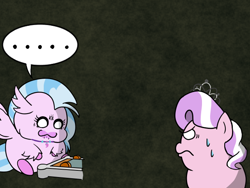 Size: 640x480 | Tagged: safe, artist:iroenpitu_nico, diamond tiara, silverstream, ..., digital art, pocket ponies