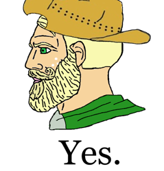 Size: 626x656 | Tagged: artist needed, safe, applejack, human, equestria girls, applejack (male), beard, cowboy hat, facial hair, freckles, hat, humanized, meme, nordic gamer, rule 63, simple background, solo, stetson, white background, yes