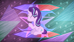 Size: 15360x8640 | Tagged: safe, artist:laszlvfx, artist:pink1ejack, edit, starlight glimmer, pony, absurd file size, absurd resolution, solo, wallpaper, wallpaper edit