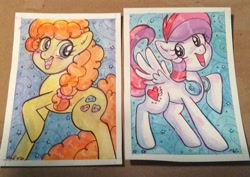 Size: 800x567 | Tagged: safe, artist:marybellamy, oc, earth pony, pony, commission, traditional art, watercolor painting, zorilita