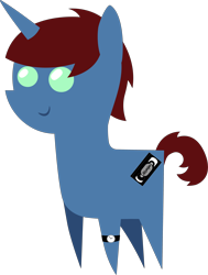 Size: 3156x4170 | Tagged: safe, artist:jamesawilliams1996, artist:lyonic, oc, oc only, oc:jamesawilliams1996, pony, unicorn, male, pointy ponies, simple background, solo, transparent background